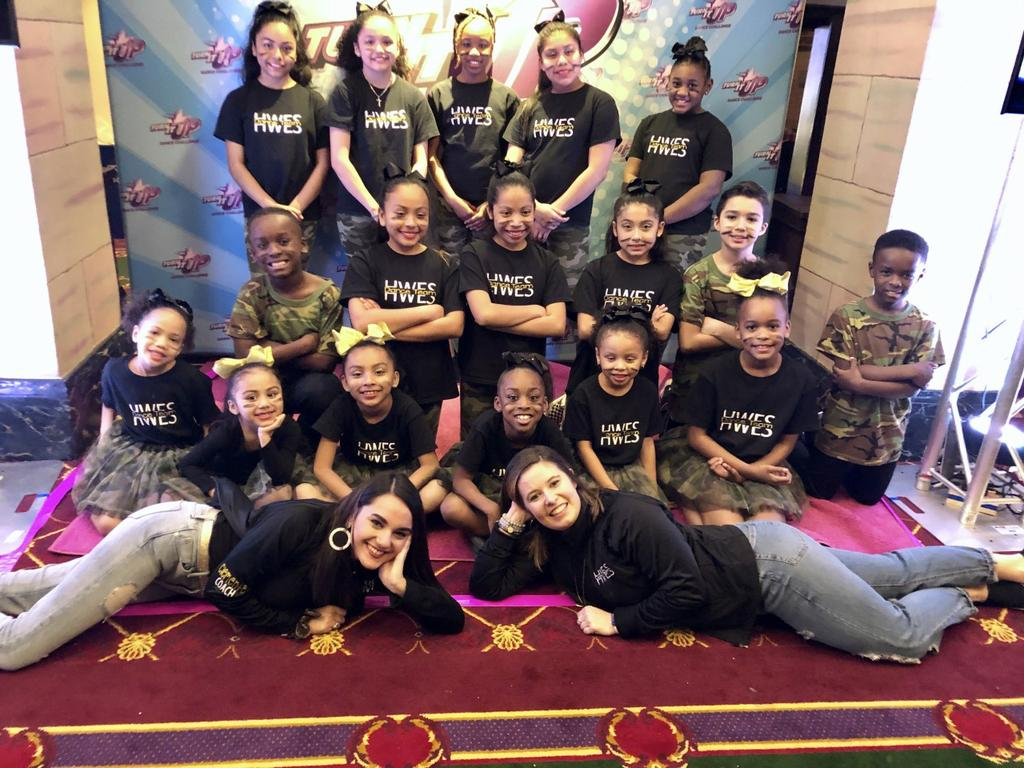 Hall-Woodward Dance Team receives  a High Gold Award for their performance at Turn It Up Dance Challenge.