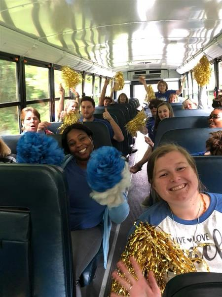 JES Teacher Bus Ride Aug 16