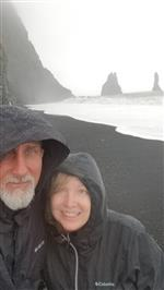 Mr. and Mrs. Rose in Iceland