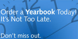 Yearbook Orders Due Friday, March 22nd