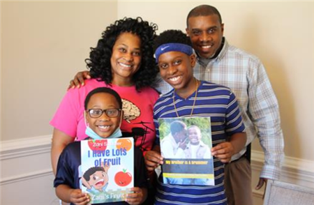Celebrating KP Creativity and Talent - Patrick Saddler and family in the news!