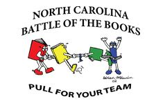 North Carolina Battle of the Books logo: Pull for your team!
