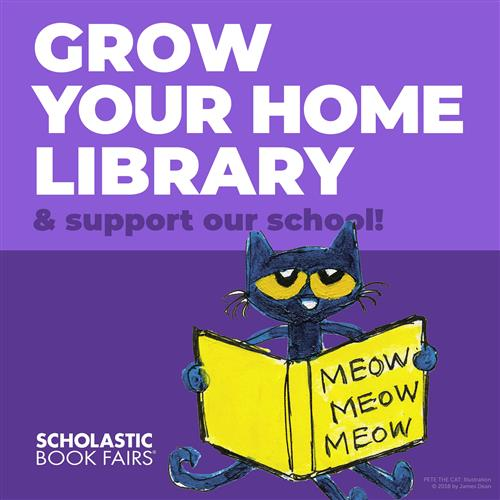 Grow your home library & support our school