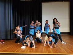 Members of our Rock Researchers dance group did a performance highlighting what they learned.
