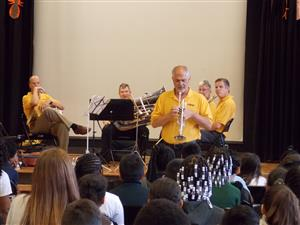Brass Ensemble visit 1