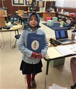 "One student as a book character from ""Sister Maus"""