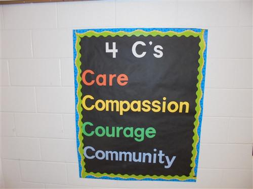 Embracing our 4 C's