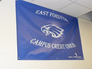 EFHS Campus Credit Union Banner