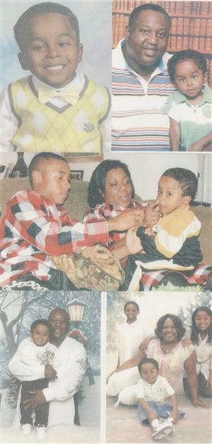 Pictures of Abrian and family