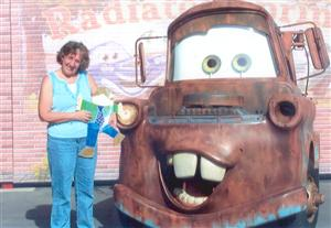 Ms. Hollifield with car
