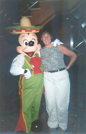Spanish Mickey Mouse with Susan