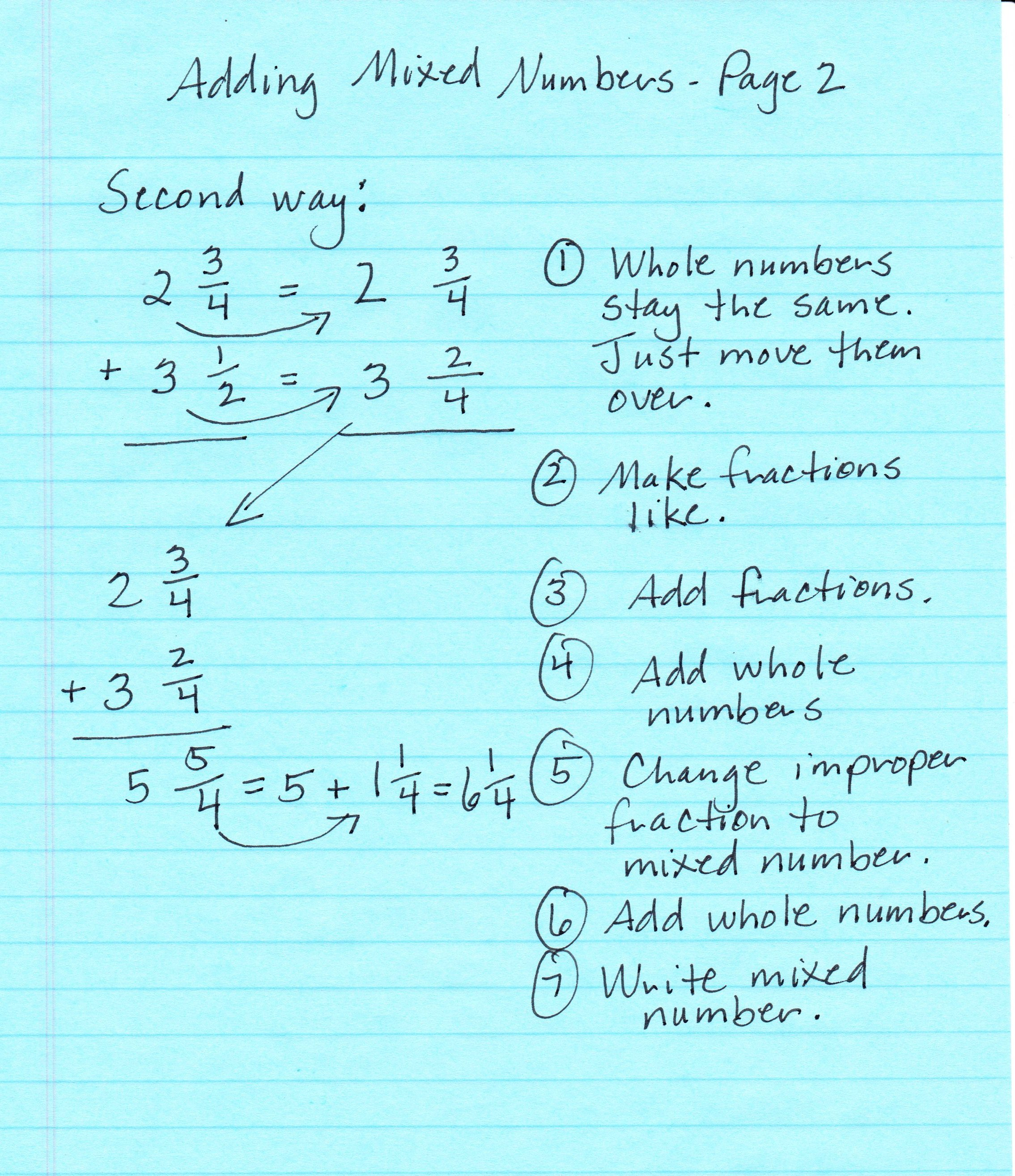 worksheet. Adding Mixed Numbers. Worksheet Fun Worksheet Study Site