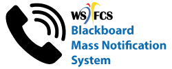WSFCS Blackboard Mass Notification System
