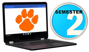 Thursday, January 21st is the first day of 2nd semester. Click here for links to virtual classes.