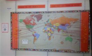 Global Reading Map