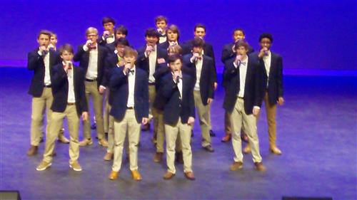 RJR boys a cappella group
