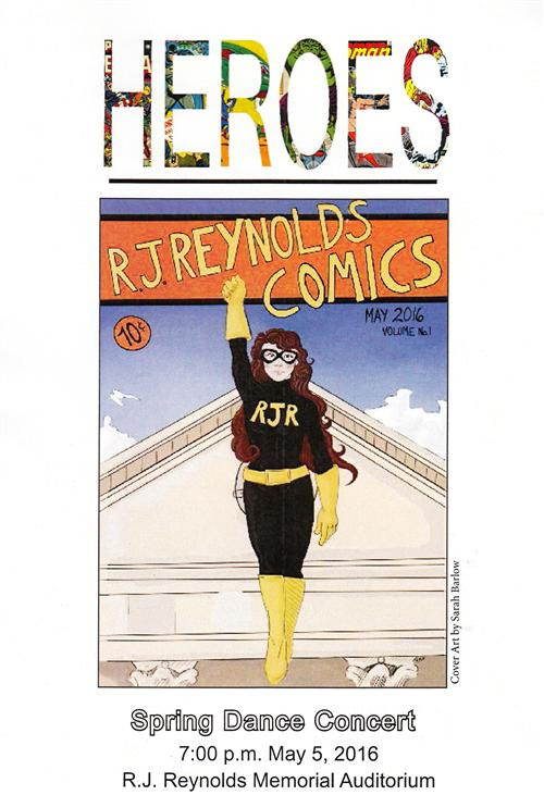 2016 Spring Dance Showcase bulletin