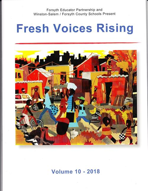 cover of Fresh Voices Rising magazine
