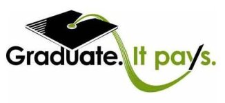 Graduate. It pays. logo