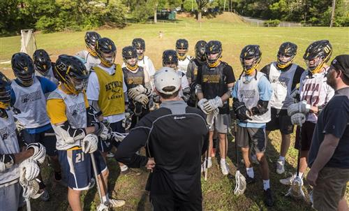 RJR boys lacrosse team