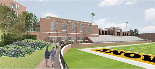 artist view of inside of proposed multi-sports stadium