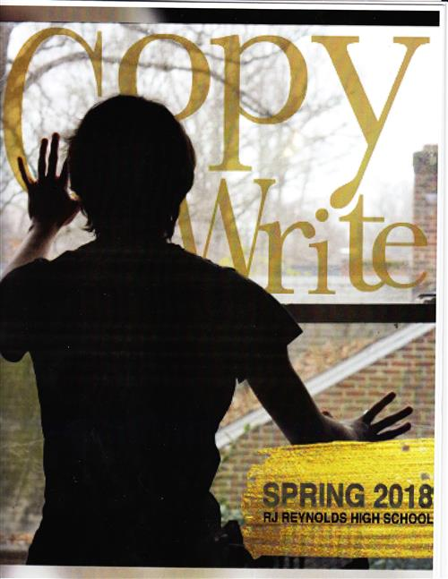 front cover of 2018 Copy Write magazine