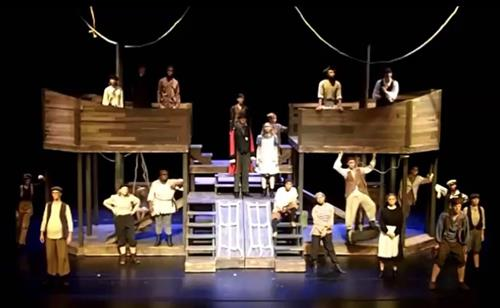 "ship built for ""Peter and the Starcatcher"""