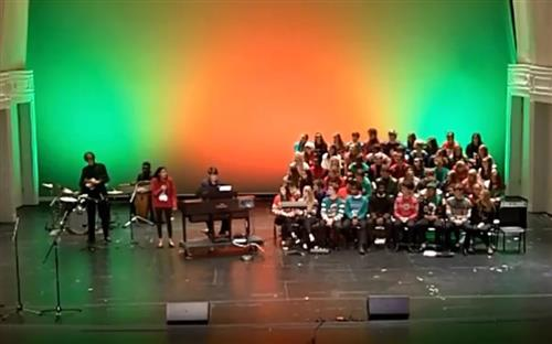 performers at the 2019 RJR Holiday Showcase