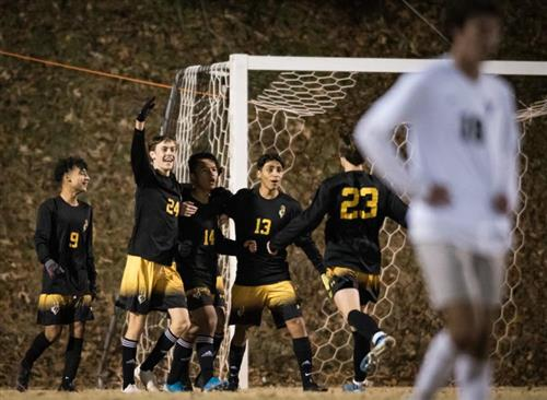 RJR's Mens Soccer Team Still Ranked #1 in the State
