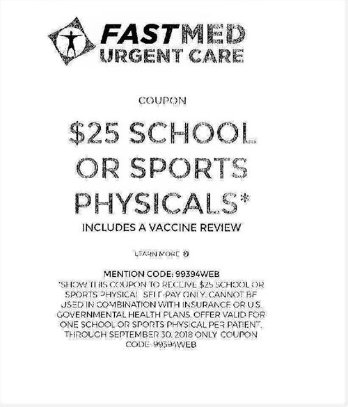 Walkertown high school homepage 25 physicals from fast med fandeluxe Choice Image