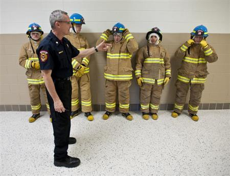 WHS Fire Academy in the Winston-Salem Journal