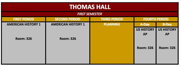 hall thomas s welcome