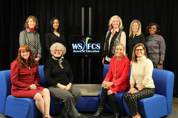 Image of the new WS/FCS Board of Education