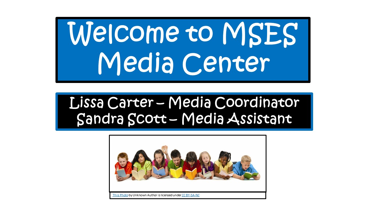 Welcome to MSES Media Center